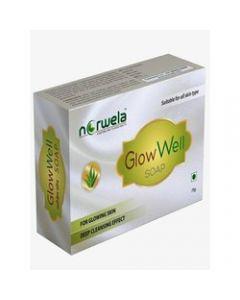 Norwela Glowwell Soap-75gm pack of 4pc