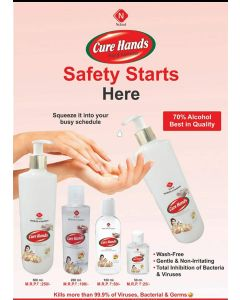 Nukind Hand Sanitizer pack of 3pcs -100ml