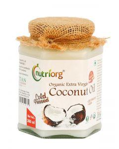 Nutriorg Certified Organic Extra Virgin Coconut Oil-360ml