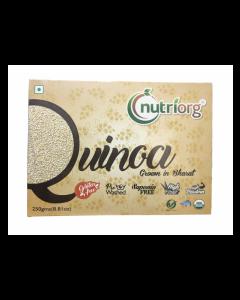 Nutriorg Certified Organic Gluten Free Quinoa-250gm Pack Of 2