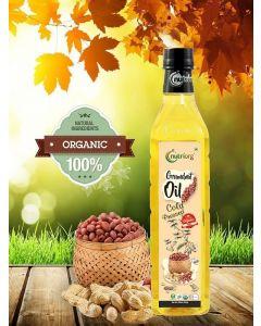 Nutriorg Certified Organic Groundnut Oil-1ltr