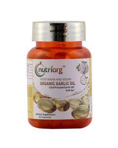 Nutriorg Garlic Capsules 60 Capsules-500Mg