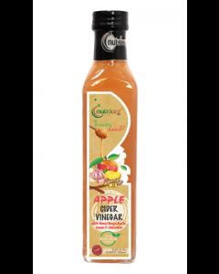 Nutriorg Healthy Heart Apple Cider Vinegar with Honey, Ginger, Garlic, lemon and Cinnamon-250ml
