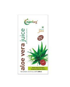 Nutriorg Natural Aloe Vera Juice-500ml