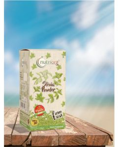 Nutriorg Stevia Leaf Powder-150gm 100% Natural Green Powder