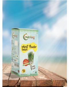 Nutriorg Wheat Grass Powder Certified Organic-100gm