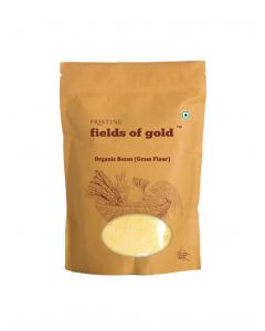Pristine Fields of Gold Organic Besan (Gram flour)-500gm