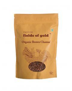 Pristine Fields of Gold Organic Brown Channa-1kg