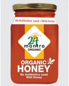 24 Mantra Himalayan Multifolwer Honey-500gm