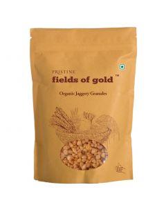 Pristine Organics Fields of Gold Organic Jaggery Granules-1kg