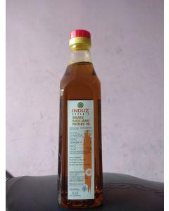 Induz Organic Mighty Yellow Mustard Oil (Cold Pressed) -1Ltr.