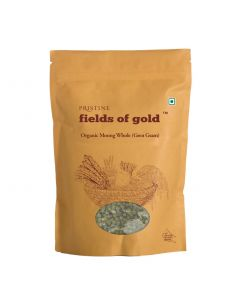 Pristine Fields of Gold Organic Moong Whole (Green gram)-500gm