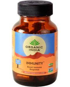 Organic India Immunity Capsules -60 Capsules