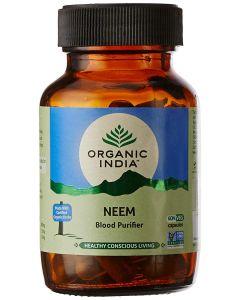 Organic India Neem Blood Purifier-60Capsules