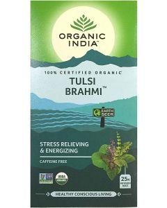 Organic India Tulsi Brahmi Tea-25 Tea Bags