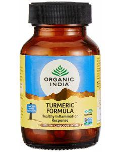 Organic India Turmeric Bottle-60 Capsules