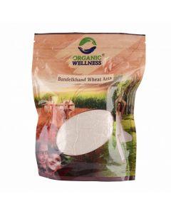 Organic Wellness Bundelkhand Wheat Atta-500gm Pack of 2pc