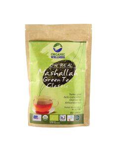 Organic Wellness  Real Mashallah Green Tea Classic-100gm zipper pouch