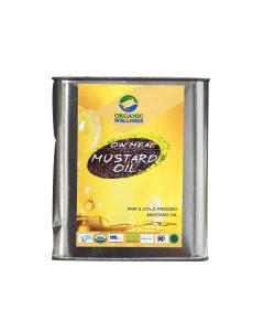 Organic Wellness Meal Mustard Oil-2ltr