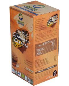 Organic Wellness Real Cinnamon Cleanse-25 Tea Bags