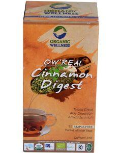 Organic Wellness  Real Cinnamon Digest-100gm zipper pouch