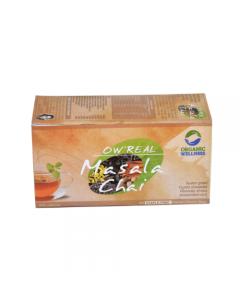 Organic Wellness Real Masala Chai-25 Tea Bags