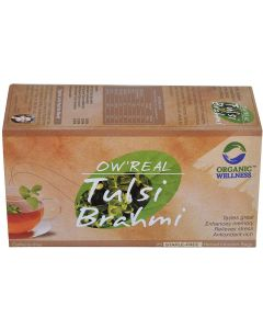 Organic Wellness Real Tulsi Brahmi-25 Tea Bags