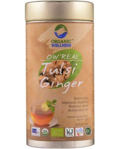 Organic Wellness Real Tulsi Ginger-100gm Tin