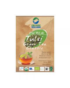 Organic Wellness Real Tulsi Green Tea Classic-100gm zipper pack