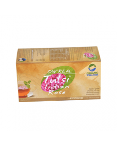 Organic Wellness Real Tulsi Indian Rose-25 Tea Bags
