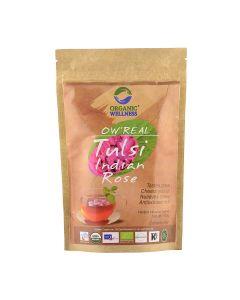 Organic Wellness Tulsi Indian Rose-100gm Zipper Pouch