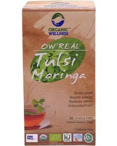 Organic Wellness Tulsi Moringa-25 Tea Bags