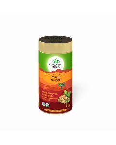Organic India Tulsi Ginger Tea-100gm