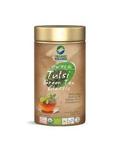 Organic Wellness Real Tulsi Green Tea Classic-100gm tin