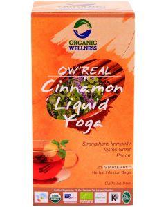Organic Wellness Real Cinnamon Liquid Yoga-25 Tea Bags