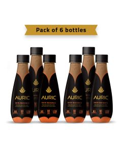 Auric Ayurvedic Skin Radiance Beverage250ml-pack of 6pcs