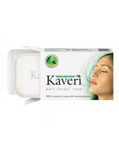 Pankajakasthuri Kaveri Herbal Soap-90gm Pack Of 10pc
