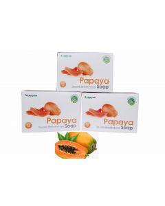 Aranyaa Papaya Soap-75gm Pack of 3pc