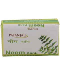 Patanjali Kanti Neem Body Cleanser Soap-75gm pack of 10