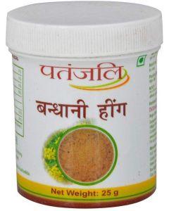 Patanjali Bandhani Hing-25gm pack of 5