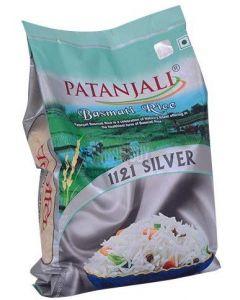 Patanjali Basmati Rice-5Kg(Silver)