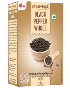 Patanjali Black Pepper Whole-100gm
