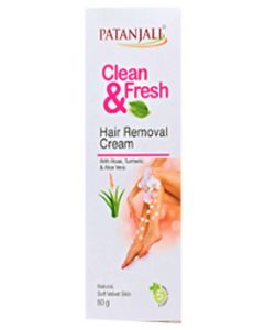 Patanjali Clean and Fresh Hair Removal Cream-50gm