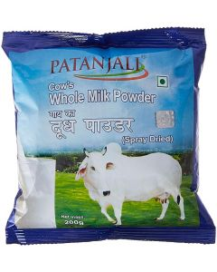 Patanjali Cows Whole Milk Powder-200gm