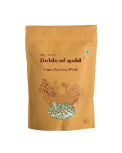 Pristine Fields of Gold Organic Peas Green (Whole)-500gm