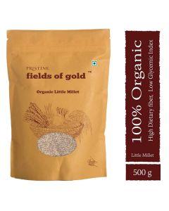 Pristine Organics Fields of Gold  Organic Little Millet-500gm