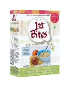 Pristine 1st Bites - Wheat & Apple Powder 8 Months - 24 Months-300gm