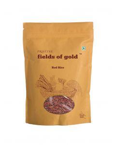 Pristine Organic Fields of Gold Red Rice-1000gm