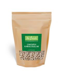 Refresh Organic Chickpea Kabuli Dollar-1kg
