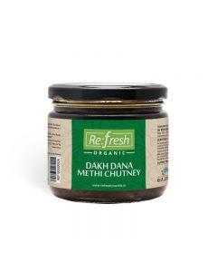 Refresh Organic Dakh Dana Methi Chutney-350gm